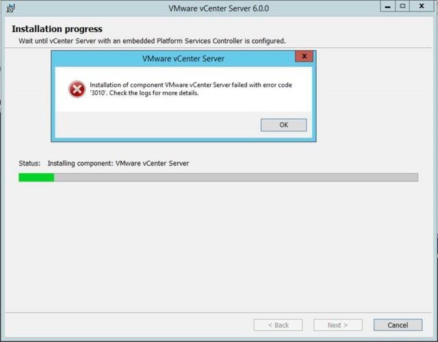 vmware-windows-vcenter-error3010